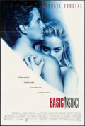 "Movie Posters:Thriller, Basic Instinct (Tri-Star, 1992). Folded, Fine/Very Fine. One Sheet (26.75"" X 39.5"") DS. Thriller.. ..."