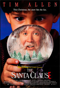 "The Santa Clause (Buena Vista, 1994). Rolled, Very Fine. Lenticular One Sheets (2) Identical (27"" X 40"") DS. C..."