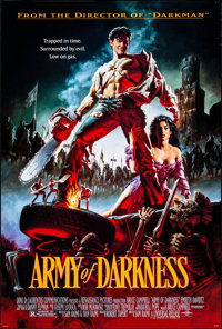 """Army of Darkness (Universal, 1992). Rolled, Very Fine. One Sheet (26.75"""" X 39.75"""") SS. Michael Hussar Artwork..."""