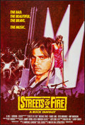 """Movie Posters:Action, Streets of Fire & Others Lot (Universal, 1984). Rolled & Folded, Very Fine. One Sheets (3) (27"""" X 41"""" & 27"""" X 40""""). Action.... (Total: 3 Items)"""