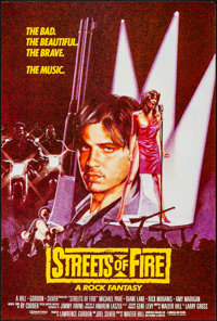 """Streets of Fire & Others Lot (Universal, 1984). Rolled & Folded, Very Fine. One Sheets (3) (27"""" X 41""""..."""