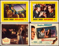 "Movie Posters:Drama, Tokyo Joe & Others Lot (Columbia, 1949). Overall Very Fine-. Lobby Cards (4), Mexican Lobby Cards (4), and Photos (2) (11"" X... (Total: 10 Items)"