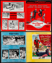 "The Emperor Waltz & Others Lot (Paramount, 1948). Uncut Pressbooks (6) (Multiple Pages, 11"" X 15"", 12.25&q..."