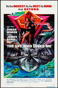 "Movie Posters:James Bond, The Spy Who Loved Me (United Artists, 1977). Very Fine-. One Sheet (27"" X 41""). Bob Peak Artwork. James Bond.. ..."
