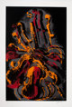 Arman (1928-2005) Diabelli Variations, c. 1979 Serigraph in colors on wove paper 45 x 30-3/4 inches (114.3 x 78.1 cm)