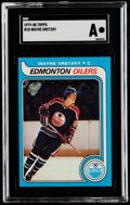 Hockey Cards:Singles (1970-Now), 1979 Topps Wayne Gretzky #18 SGC Authentic....