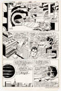 Original Comic Art:Panel Pages, Curt Swan and Frank Chiaramonte Superman #372 Story Page 4Original Art (DC, 1982)....