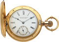 Timepieces:Pocket (pre 1900) , E. Howard & Co. Boston Massive 18k Gold Series IV Hunters Case, circa 1880. ...
