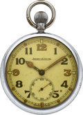 Timepieces:Pocket (post 1900), Jaeger-LeCoultre Military Pocket Watch. ...