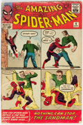 Silver Age (1956-1969):Superhero, The Amazing Spider-Man #4 (Marvel, 1963) Condition: GD....