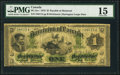 Canadian Currency, DC-2a-i $1 1870 PMG Choice Fine 15.. ...