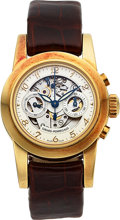 Timepieces:Wristwatch, Girard-Perregaux, Ladies Chronograph, Automatic, 18K Pink Gold,Ref. 8045, Circa 2005. ...
