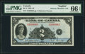 Canadian Currency, BC-3 $2 1935 PMG Gem Uncirculated 66 EPQ.. ...