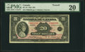 Canadian Currency, BC-10 $20 1935 PMG Very Fine 20. A scarcer Fre...