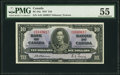 Canadian Currency, BC-24a $10 1937 PMG About Uncirculated 55.. ...
