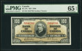 Canadian Currency, BC-27b $100 2.1.1937 PMG Gem Uncirculated 65 EPQ.