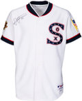 Baseball Collectibles:Uniforms, 2001 Frank Thomas Game Worn & Signed Chicago White Sox Alternate Jersey. ...