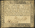 Colonial Notes:Maryland, Maryland August 14, 1776 $1/2 Very Fine.. ...