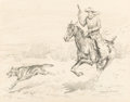 Mainstream Illustration, Robert Farrington Elwell (American, 1874-1962). Group of Five Illustrations. Ink on paper, each. 28 x 18-3/4 inches (71.... (Total: 5 Items)