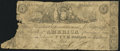 New York, NY- Bank of America Counterfeit $5 May 2, 1836 Good