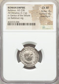Ancients:Roman Imperial, Ancients: Balbinus (AD 238). AR denarius (21mm, 3.11 gm, 12h). NGCChoice XF 4/5 - 4/5, Fine Style....