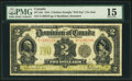 Canadian Currency, DC-22e $2 2.1.1914 PMG Choice Fine 15.. ...