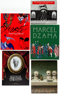 Art Books Signed Hardcover Group of 5 (Various Publishers, 1996-2010).... (Total: 5 Items)