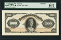 Canadian Currency, DC-29 $1000 1925 Face Proof PMG Choice Uncirculated 64.. ...