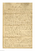 Autographs:Statesmen, Confederate Proclamation Signed by John Cabell Breckinridge...