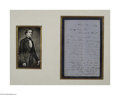 Autographs:U.S. Presidents, Jefferson Davis, Civil War Date Letter as President of theConfederacy, 1862...