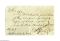 Autographs:Statesmen, Oliver Ellsworth 1778 Autograph Document Signed...