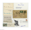 Autographs:Statesmen, First Ladies Autograph Collection...