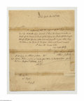 Autographs:Statesmen, Albert Gallatin, Jefferson's Secretary of the Treasury...