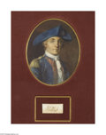 Autographs:Military Figures, An Exceptionally Rare Signature to Source: John Paul Jones, Revolutionary War Naval Hero....