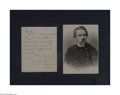 Autographs:Military Figures, Philip Kearney, Rare Civil War Dated Letter...