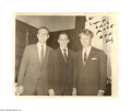 Autographs:Statesmen, Campaign Humor from Bobby Kennedy...