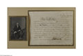 Autographs:Statesmen, Robert Morris Signed North American Land Company StockCertificate...