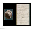 Autographs:Statesmen, William Whipple Autograph Letter With Significant Content...