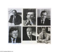 Autographs:Statesmen, Political Autograph Lot: Ted Kennedy, Moynihan, Inouye and More...(16 items)