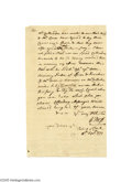 Autographs:Statesmen, Autograph Letter Signed by Declaration of Independence SignerGeorge Ross...