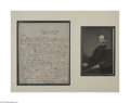 Autographs:Military Figures, William Tecumseh Sherman 1843 Signed Letter on Dispute with his Commanding Officer...
