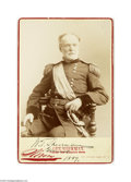 Autographs:Military Figures, William Tecumseh Sherman Signed Cabinet Card Photograph, 1889...