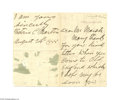 Autographs:Statesmen, The First Woman to Run for President, Victoria Claflin Woodhull1888 Letter Signed...