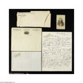"Autographs:Celebrities, William F. Cody ""Buffalo Bill"" Letter to His Nephew... (5 )"