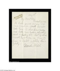 "Autographs:Celebrities, William F. Cody, ""Buffalo Bill""..."