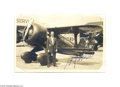 Autographs:Military Figures, Aviator Jimmy Doolittle Signed Real Photo Postcard...