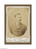 Autographs:Non-American, Henry Stanley Signed Photograph...