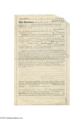Autographs:Statesmen, Mr. and Mrs. Henry Ford Signed Contract for a Sale to a Railroad Company...