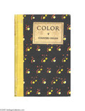 "Autographs:Celebrities, African American Poet Countee Cullen Signed Book ""Color""..."