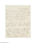 Autographs:Celebrities, Noted Author Jack London Autograph Letter Signed...
